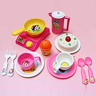 madlavning værktøj legetøj foregive play legetøj diy legetøj sæt (14 stk)