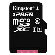 Kingston 128GB Clase 10 MicroSD/MicroSDHC/MicroSDXC/TFMax Read Speed10 (MB/S)Max Write Speed10 (MB/S)