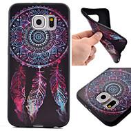 Varten Samsung Galaxy S7 Edge Kuvio Etui Takakuori Etui Unisieppari TPU Samsung S7 Active / S7 plus / S7 edge / S7 / S6 edge / S6