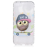 For iPhone 6 Case / iPhone 6 Plus Case Transparent / Pattern Case Back Cover Case Owl Soft TPUiPhone 6s Plus/6 Plus / iPhone 6s/6 /