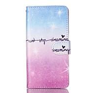 Samsung galaxy s7 reuna s7 lompakko iskunkestävä flip väri gradientti tpu pehmeä kotelo