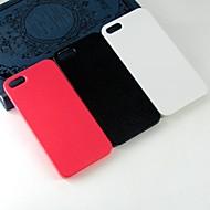 Para Capinha iPhone 5 Estampada Capinha Capa Traseira Capinha Cor Única Rígida PC iPhone SE/5s/5