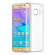 のために Samsung Galaxy S7 Edge クリア ケース バックカバー ケース ソリッドカラー TPU Samsung S7 edge / S7