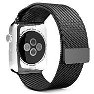 38mm 42mm volledig magnetische sluiting sluiting mesh Milanese armband metalen lus polsband band voor Apple iWatch watch