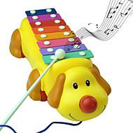 sød hund farverige slå klaver musikinstrumenter musik legetøj