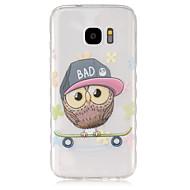 For Samsung Galaxy etui Gennemsigtig Etui Bagcover Etui Ugle TPU for Samsung S7 S6 edge S6 S5 Mini S5 S4 Mini S4 S3 Mini S3 S2