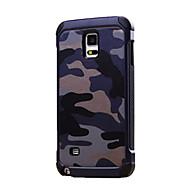 Varten Samsung Galaxy Note Iskunkestävä Etui Takakuori Etui Armeijatyyli PC Samsung Note 5 / Note 4