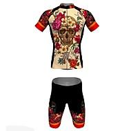 Jersey(Azul,Camuflagem) - paraEsportes Relaxantes / Ciclismo-Unissexo-Respirável / Resistente Raios Ultravioleta / Secagem Rápida- com