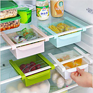 DIY Kitchen Fridge Space Saver Organizer Slide Under Shelf Rack Holder Storage