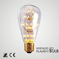 1.5W E26 Lichtdekoration ST64 33 SMD 140-180 lm Warmes Weiß Dekorativ AC 110-130 V 1 Stück