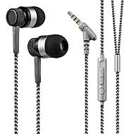 kanen 3.5mm stereo bez użycia rąk w ucho słuchawek z niskiego basu mikrofon zestawu słuchawkowego dla smartfonów