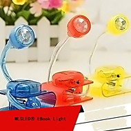 mlsled® יצירתי קליפ אור לבן הוביל אור מסך מחשב מנורת הלילה ביתי מנורת שולחן קטן (צבעים שונים)
