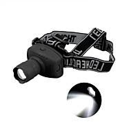 Belysning LED Lommelygter Pandelamper LED 500 Lumen 3 Tilstand LED AAA Justerbart FokusCamping/Vandring/Grotte Udforskning Dagligdags