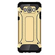 Per Samsung Galaxy Custodia Resistente agli urti Custodia Custodia posteriore Custodia Armaturato PC Samsung J5 (2016) / J1 2015