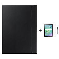 zakelijke originele cover Capa para slimme geval voor Samsung Galaxy Tab 8.0 s2 / tab s2 9.7 + stylus + film