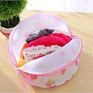 bra lavar saco de roupa suja roupas íntimas lingerie saver ajuda cesto de lavagem de malha nova cor aleatória net