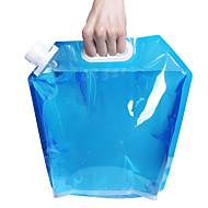 5l recipiente plegable al aire libre plegable bolsa de agua potable el agua del coche para el campo al aire libre barbacoa senderismo de