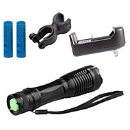 Lights LED Flashlights/Torch LED 4000 Lumens 5 Mode Cree XM-L T6 18650 / AAAAdjustable Focus / Waterproof / Rechargeable / Impact