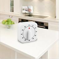 kwadratowa 60 minut mechaniczne kuchenną przygotowania żywności pieczenia zegar