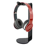 suosittu Akryylimateriaali stand kuulokkeiden tranparent (satunnaisia värejä)