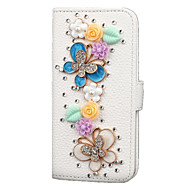 For Samsung Galaxy Note Card Holder / Wallet / Rhinestone / with Stand / Flip Case Full Body Case Glitter Shine PU Leather SamsungS7 edge