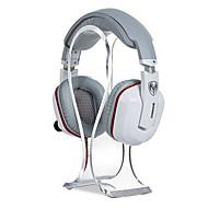 populära akrylmaterial u stil står för hörlurar (slumpmässiga färger)