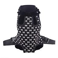 modello bello bowknot trasportino borsa zaino anteriore per i cani (s-xl)