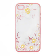 Secret Garden Flower Butterfly Diamond Soft TPU Cover for Samsung Note3 / Note4 / Note5 Case