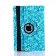 360 stupnjeva grožđa zrno PU Koža Flip cover slučaj za iPad Mini 1/2/3 (ponekog boje)