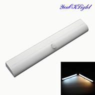 youoklight® diy stick-on som helst bärbar trådlös rörelsesensor garderob skåp steg ljus bar batteridriven