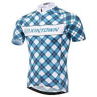 XINTOWN® Koszulka rowerowa Męskie Z krótkim rękawem Rower Oddychający / Quick Dry / Ultraviolet Resistant / Kompresja / Lekkie materiały