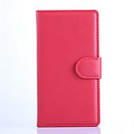 Για Θήκη Nokia Πορτοφόλι / Θήκη καρτών / με βάση στήριξης tok Πλήρης κάλυψη tok Μονόχρωμη Σκληρή Συνθετικό δέρμα NokiaNokia Lumia 1520 /
