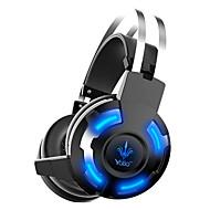 3.5mm Wired  Headphones (Headband) for Computer No Lighting
