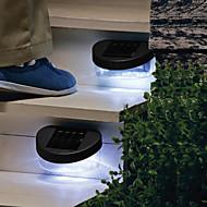 8LED Solar Power Fence Gutter Light Lamp Outdoor Garden Yard Wall Pathway Lights