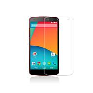 película protetora prémio tela de vidro temperado para LG Nexus 5