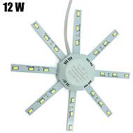 1 pcs YWXLIGHT 12W 24 SMD 5730 960 lm Cool White Decorative LED Ceiling Lights AC 220-240 V