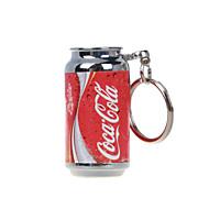 coke mini-Briquets de porte-clés flammes de briquets à gaz gonflables rouges
