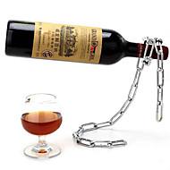 kølige kæde stil flaskeholder vinreol rødvin stå støttebeslag
