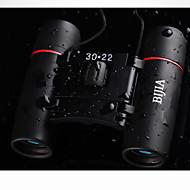 BIJIA 30 22 mm Kiikarit HD BAK4 Vedenkestävä / Yleinen / Roof Prism / Porro Prism / Teräväpiirto / Maakaukoputki / Pimeänäkö 1000m/6000m #