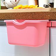 cocina-color caramelo puede organizar caja de almacenamiento de los desechos de basura colgando