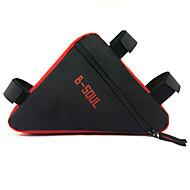 Taske til stangen på cyklen / CykeltaskeVandtæt / Regn-sikker / Vandtæt Lynlås / Reflekterende Stribe / Støv-sikker / Påførelig /