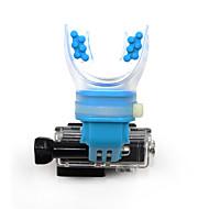 一脚 取付方法 防水 ために フリーサイズ Gopro 5 Gopro 4 Gopro 3 Gopro 3+ Gopro 2 Gopro 1 Sport DV Gopro 3/2/1 ウェイクボード ダイビング サーフィン