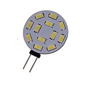6W G4 Lâmpadas de Foco de LED MR11 12 SMD 5730 450-550 lm Branco Quente / Branco Frio Decorativa DC 12 / AC 12 / AC 24 / DC 24 V 1 pç