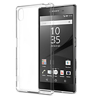 transparante ultra-dunne TPU zachte achterkant van de behuizing voor de Sony Xperia Z5 / z4 / Z3 / Z2 / z3mini / z5mini / T3 / m2 / m4 /