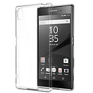 Sony Xperia için şeffaf ultra-ince tpu yumuşak geri durumda z5 / z4 / z3 / z2 / z3mini / z5mini / t3 / m2 / m4 / e3 / e4 / e4g / c4