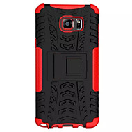 For Samsung Galaxy Note Stødsikker Med stativ Etui Bagcover Etui Armeret PC for Samsung Note 5 Edge Note 5 Note 4 Note 3