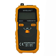 データホールド/ログとhyelec ms6501大型液晶表示デジタル温度計Kタイプ熱電対termometro