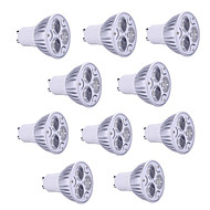 10st 9W GU10 / gu5.3 / E27 / E14 900lm warm / koel licht lamp led spot lights (85-265V)