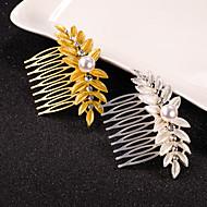 Bruiloft / Feest-Haarkammen(Parel / Kristal,Gouden / Zilver)