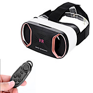 "vr box headset video film game polariserede briller + bt remote konsol for 4 ~ 6 ""mobiltelefoner"